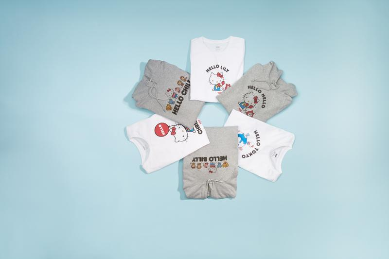 Hello Kitty x Levi's Sanrio Anniversary Capsule Denim Laser Etched Jeans Printed Tshirts