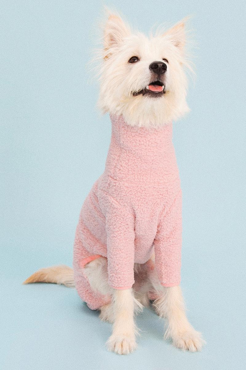 Little Beast Dog Clothing Sweater Hoodie Tie-Dye