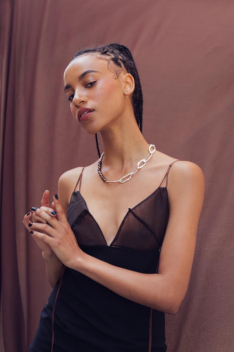 loveness lee luxury jewelry aevum collection earrings necklaces bracelets accessories lookbook
