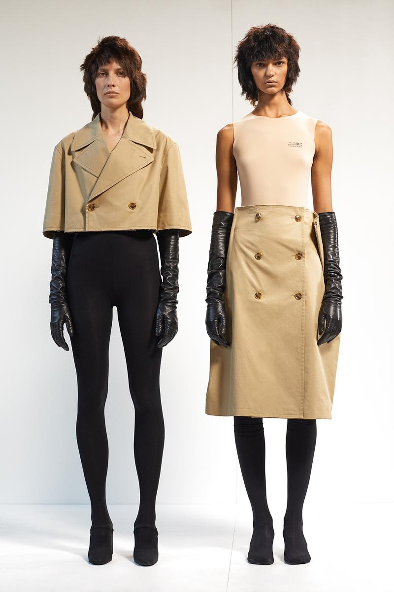 mm6 maison margiela spring summer 2021 collection milan fashion week mfw lookbook pants jackets bags shirts jeans