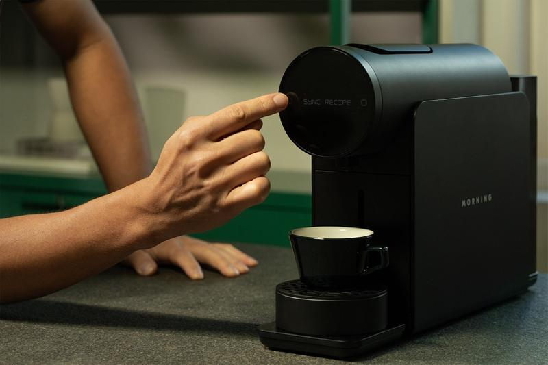 morning machine coffee latte espresso brewer nespresso originalline capsules