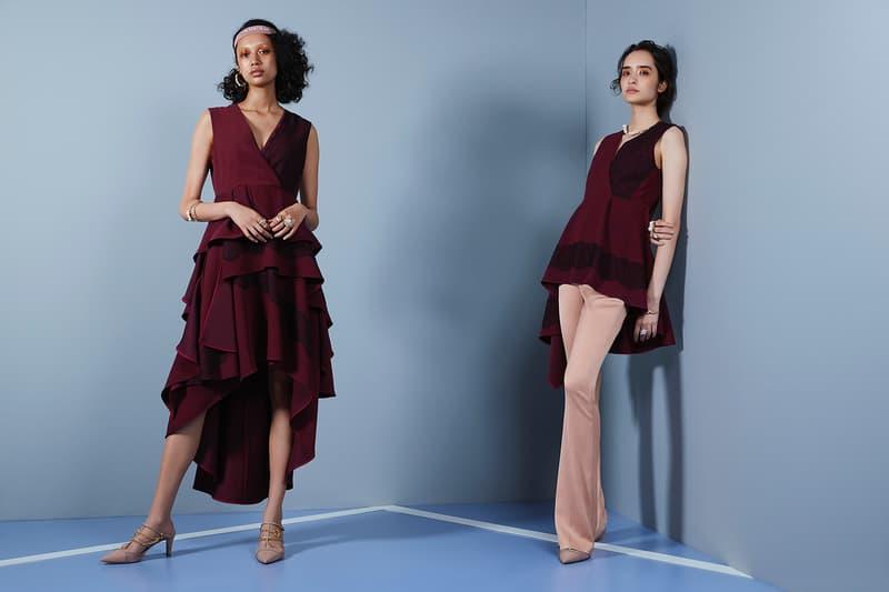 Naomi Osaka x ADEAM Collaboration Apparel Clothing Collection Lookbook Tokyo Shirt Dress