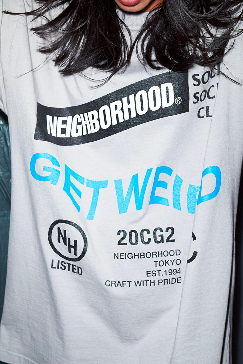 assc anti social social club neighbordhood collaboration graphic hoodies t-shirts release info