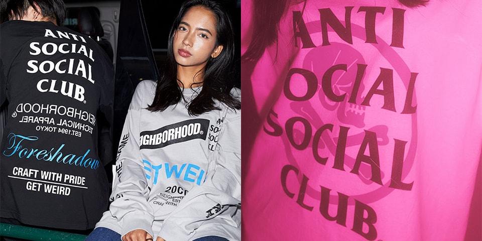 NEIGHBORHOOD x Anti Social Social Club Go Graphic-Heavy for Latest Collaboration