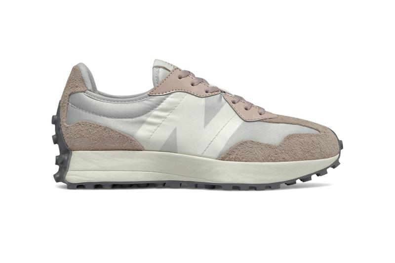 new balance 327 sneakers nude muted pink gray cream shoes sneakerhead footwear
