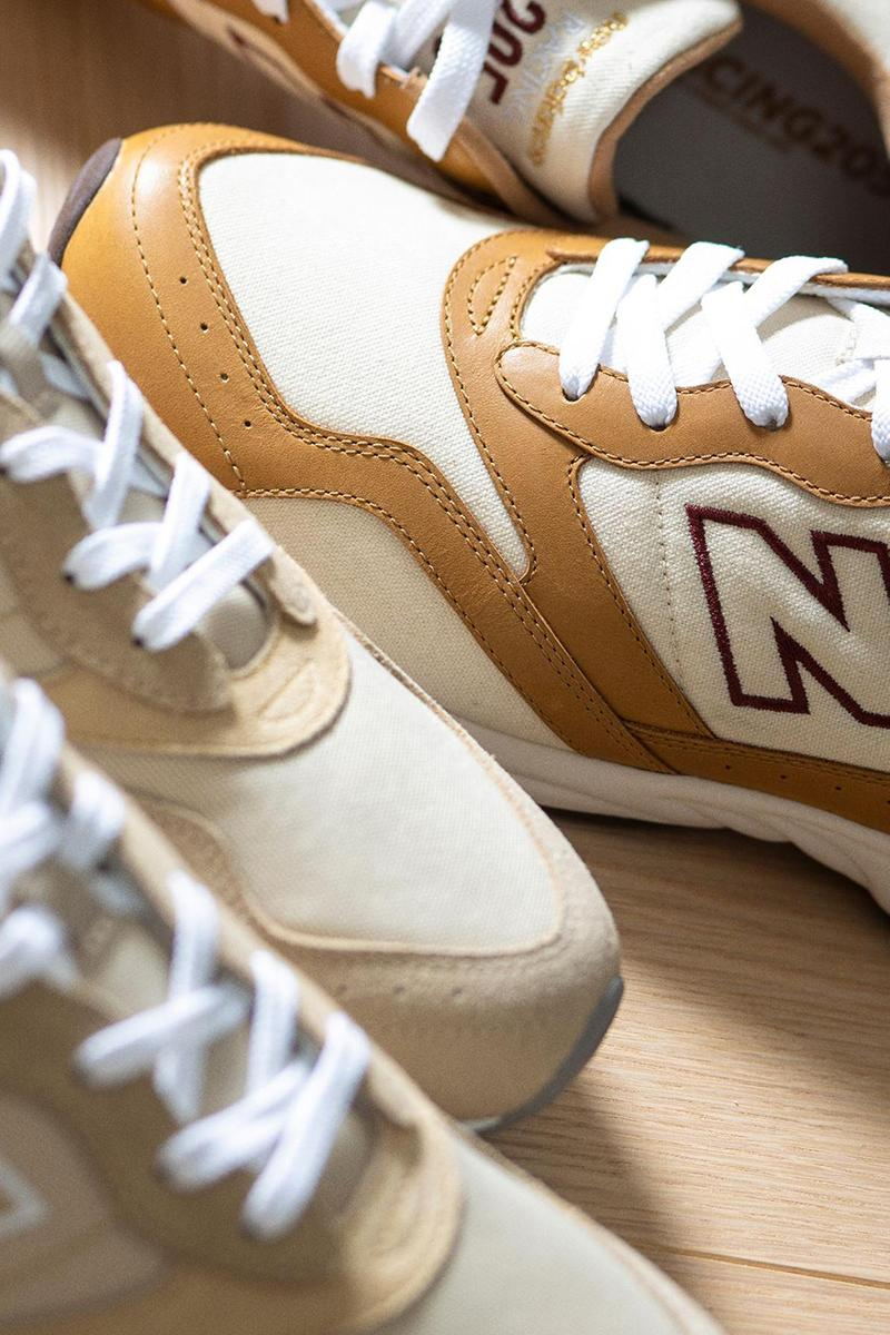 new balance nb beauty and youth rc205 collaboration pastel neutral beige brown release info