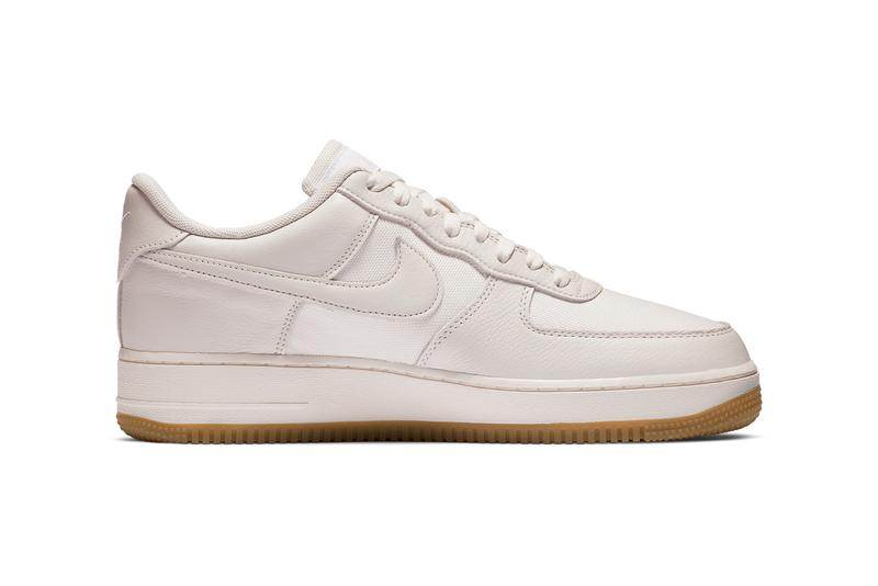 nike air force 1 low af1 gore-tex sail light beige sneakers minimal release info