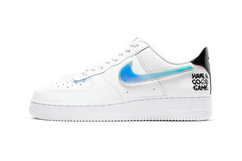 Nike Air Force 1 Low '07 LV8 Holographic Good Game White