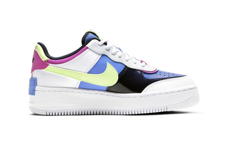 nike air force 1 af1 shadow pink blue sapphire fire white womens sneakers release price