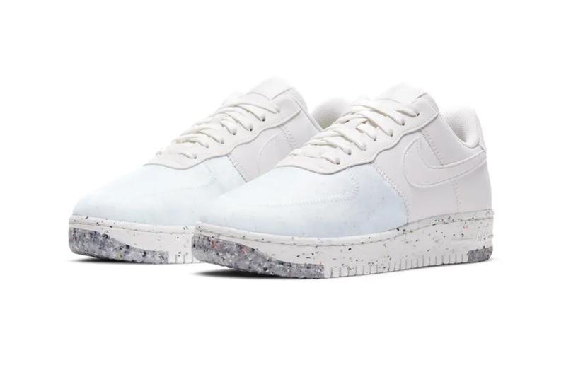 nike af1 air force 1 crater summit white womens sneakers sustainable recycled release