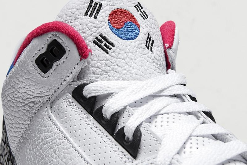 nike air jordan 3 aj3 seoul south korea womens exclusive sneakers limited edition 1988 olympics release info