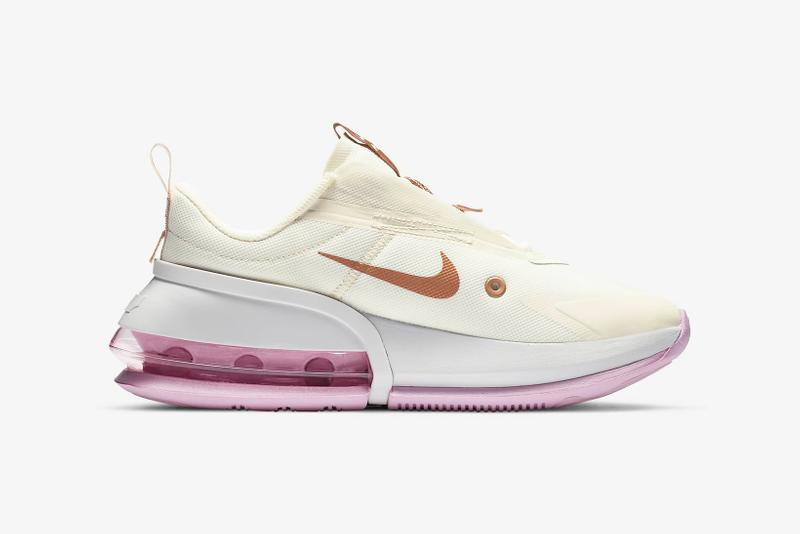 nike air max up womens sneakers cream white pink shoes footwear sneakerhead