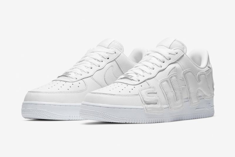 nike cactus plant flea market collaboration air force 1 low sneakers white shoes footwear