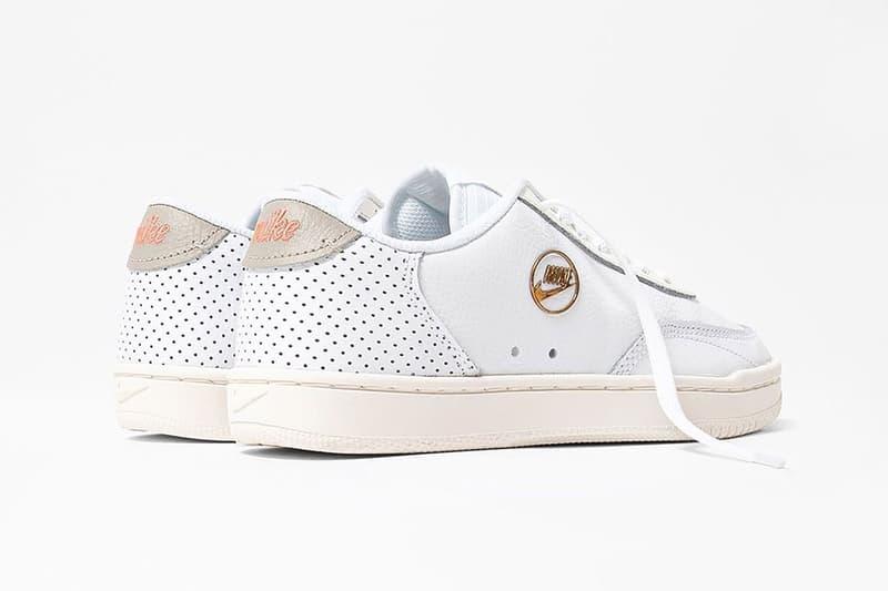 nike court vintage premium womens sneakers white cream gold shoes sneakerhead footwear