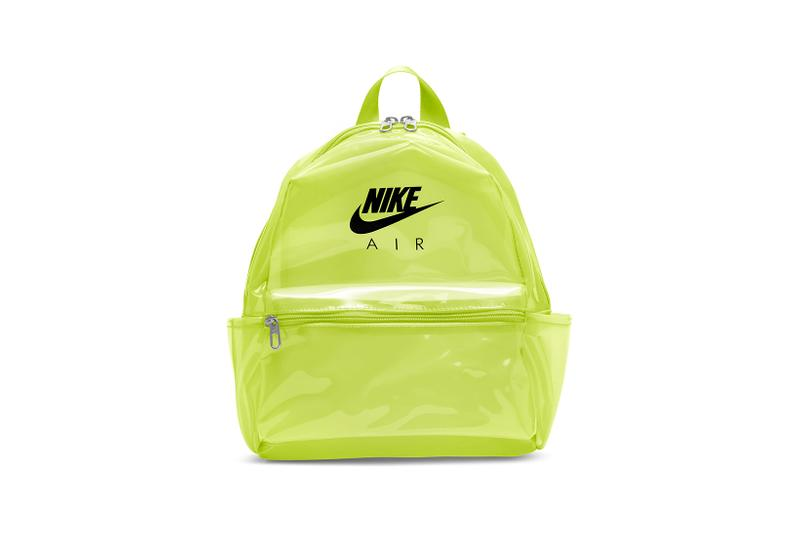 Nike Just Do It Backpack Mini Clear Volt Green