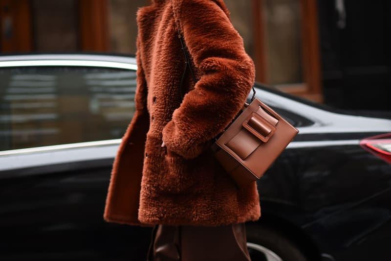 New York Fashion Week Fall/Winter 2019 Street Style Fur Coat Brown