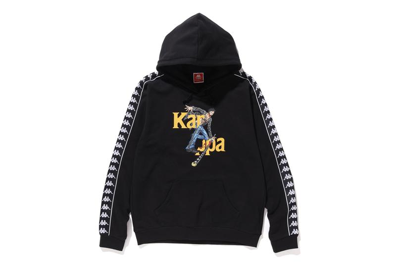 kappa one piece fall winter collaboration release hoodies t-shirts luffy law boa hancock anime manga
