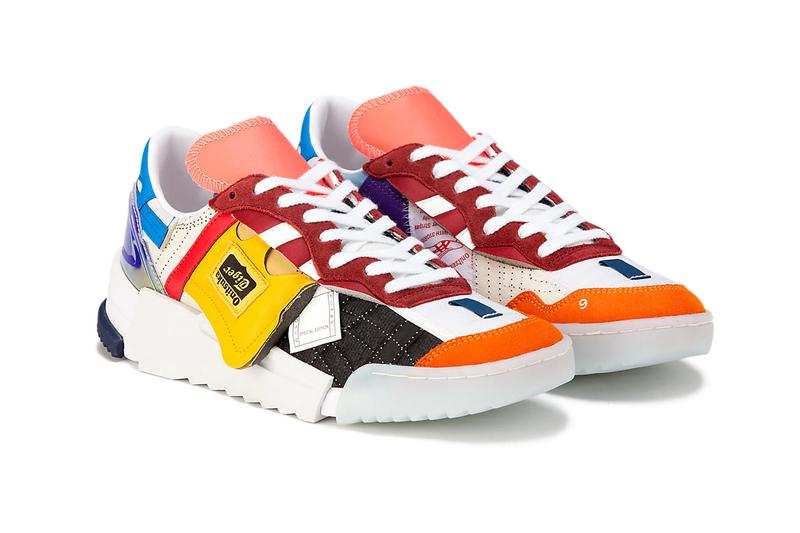 brian kenny onitsuka tiger nyc new york artist collaboration d-trainer boro vintage heritage patchwork