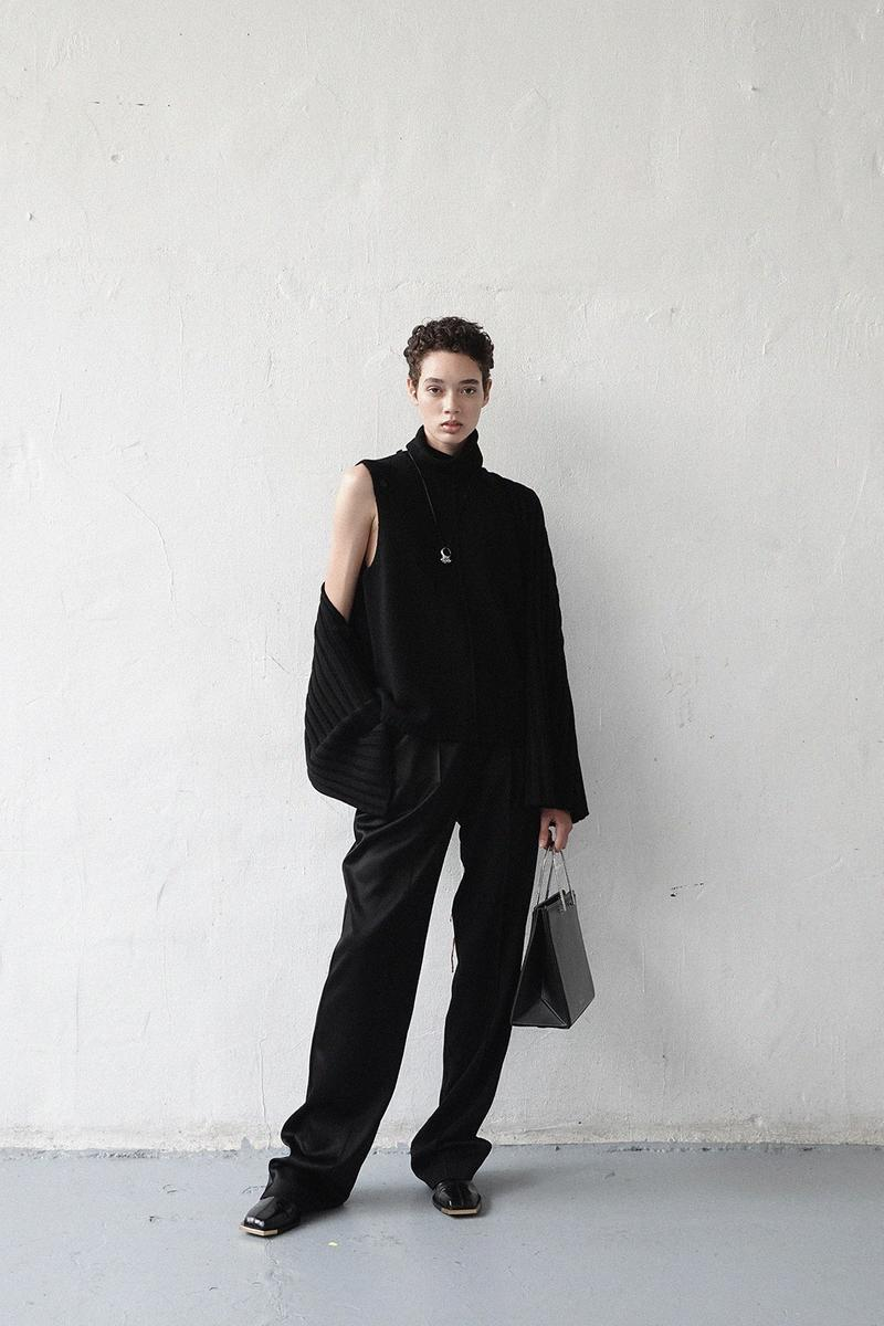 peter do spring summer 2021 collection lookbook minimalist dresses coats bags suits shirts