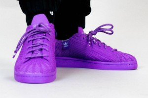 Picture of Pharrell Williams x adidas Originals Craft Tonal Superstars With Primeknit