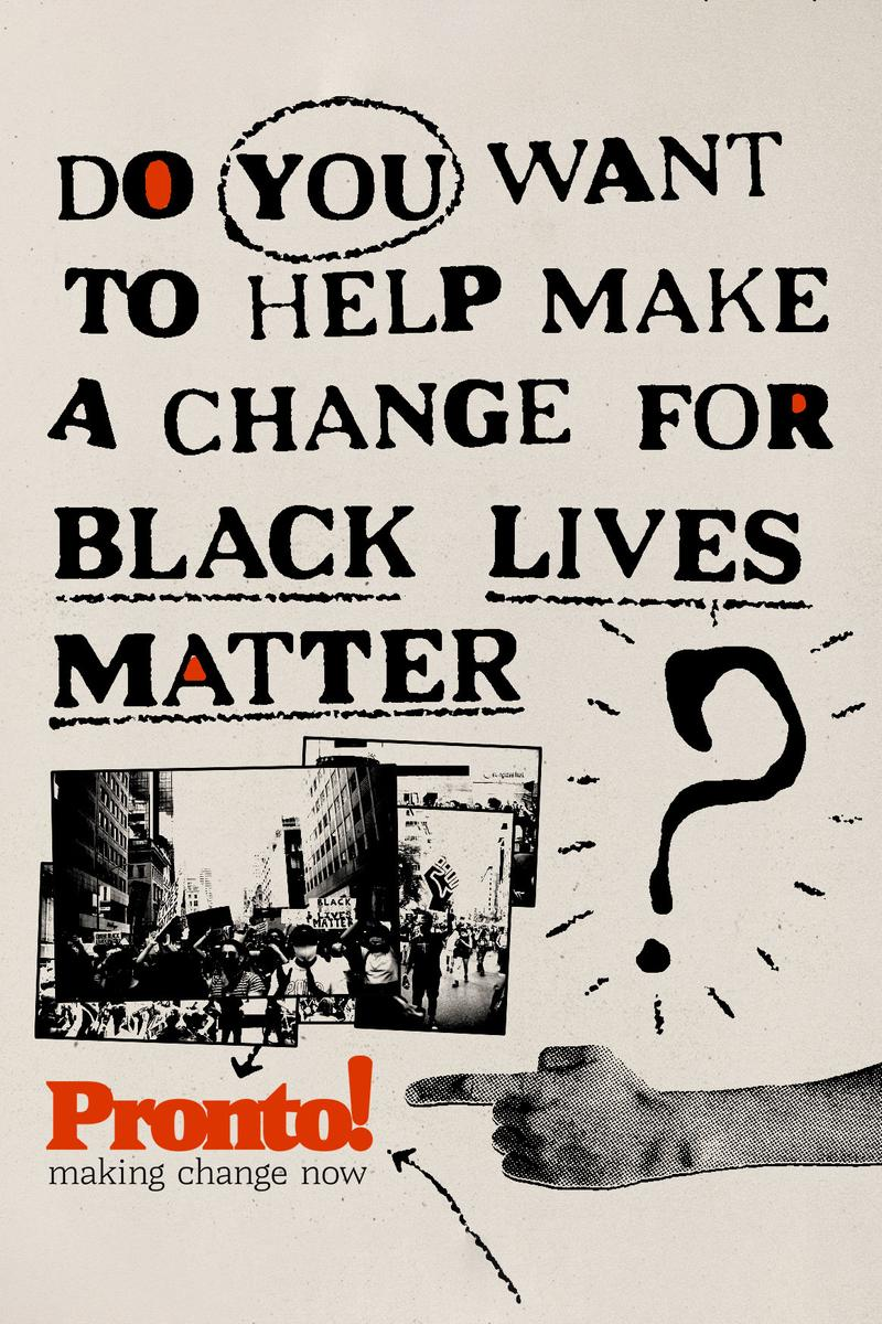 Pronto App Black Lives Matter Logo