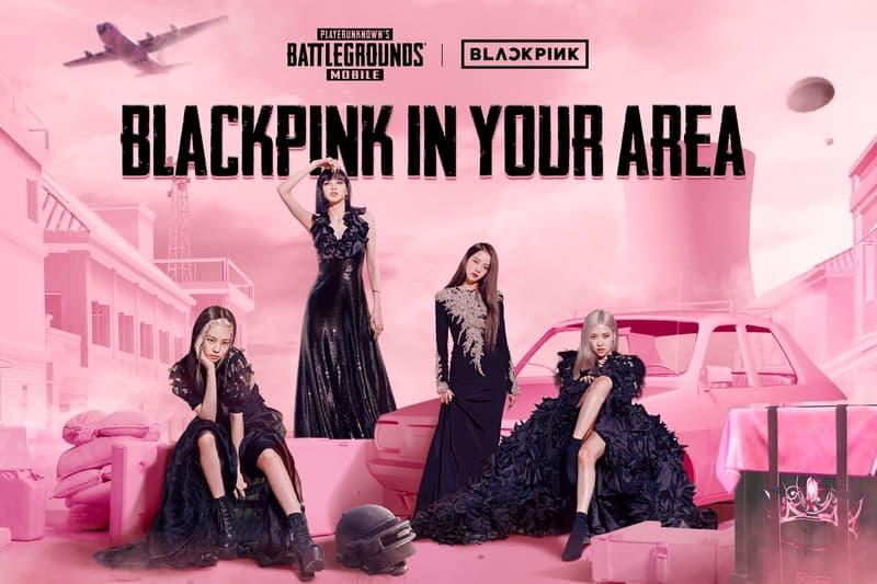 pubg blackpink playerunknowns battlegrounds collaboration video gaming k-pop