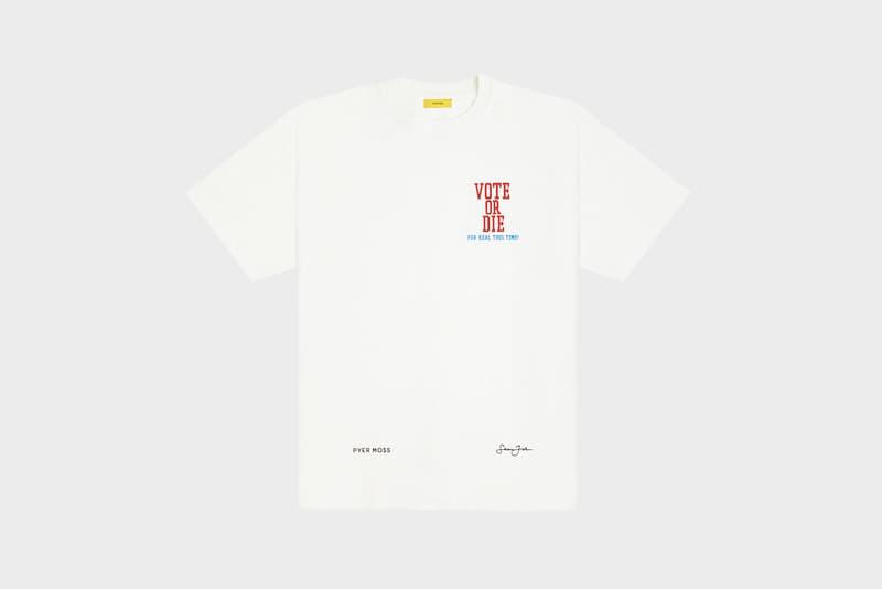 Sean John by Pyer Moss Vote or Die T-Shirt Exist to Resist