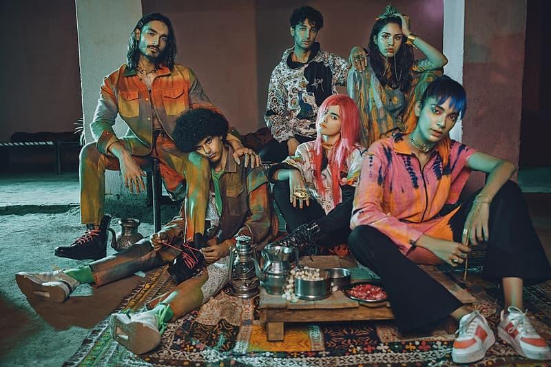 rastah volume iv collection outerwear jackets hoodies tees pakistani streetwear brand sustainable lookbook pants shirts sneakers