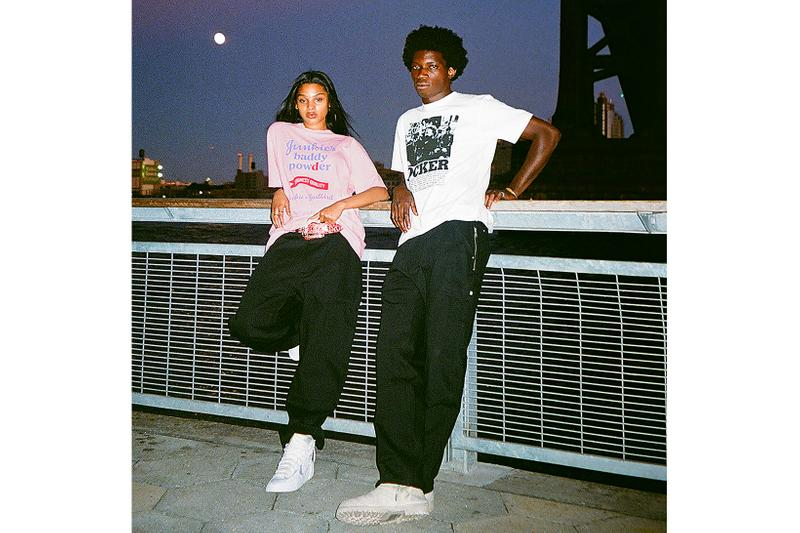 hysteric glamour richardson collaboration pink black t-shirts hoodies fall winter release info