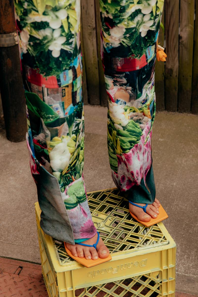 sabrina olivera soldaderas collection pants lookbook hats shoes flats