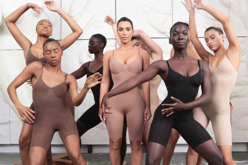 SKIMS Launches in the UK Exclusively at Selfridges Kim Kardashian Shapewear Where to Buy