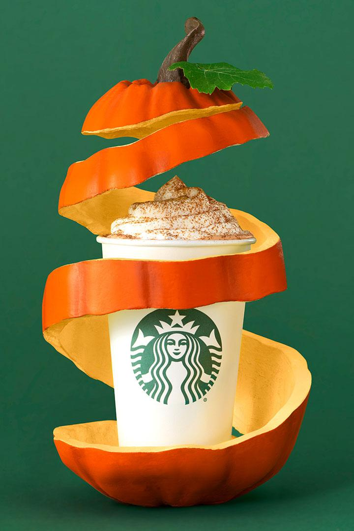Starbucks Vegan Pumpkin Spice Latte