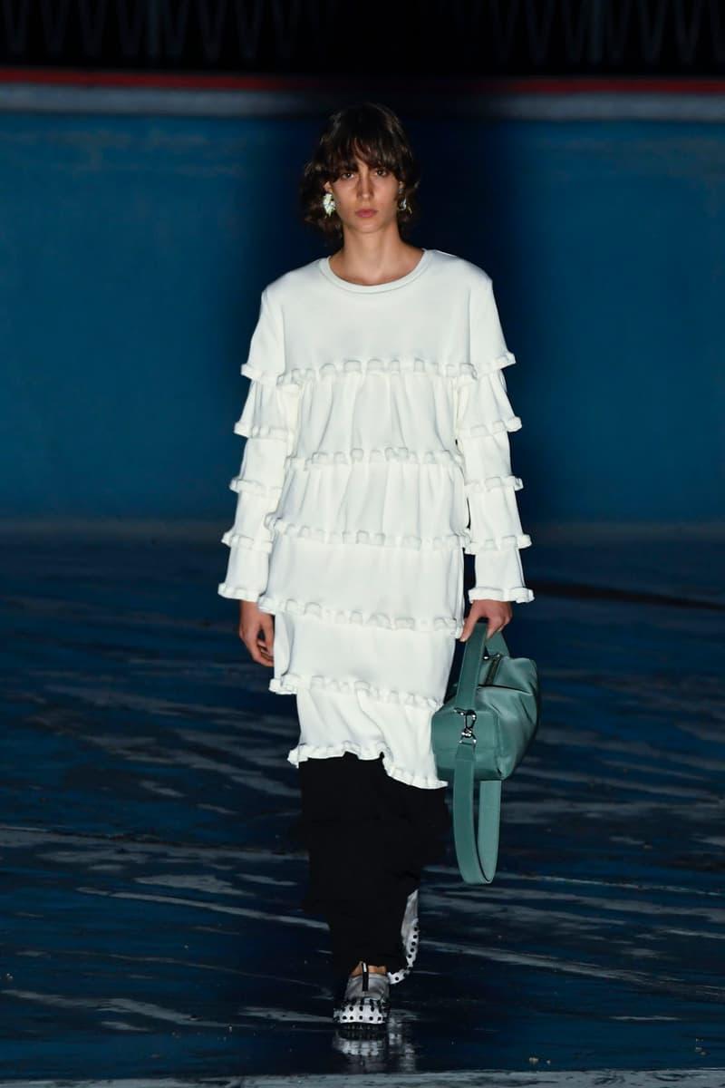 sunnei spring summer 2021 runway collection minimalist vanguard group nanushka investment simone rizzo loris messina milan fashion week mfw