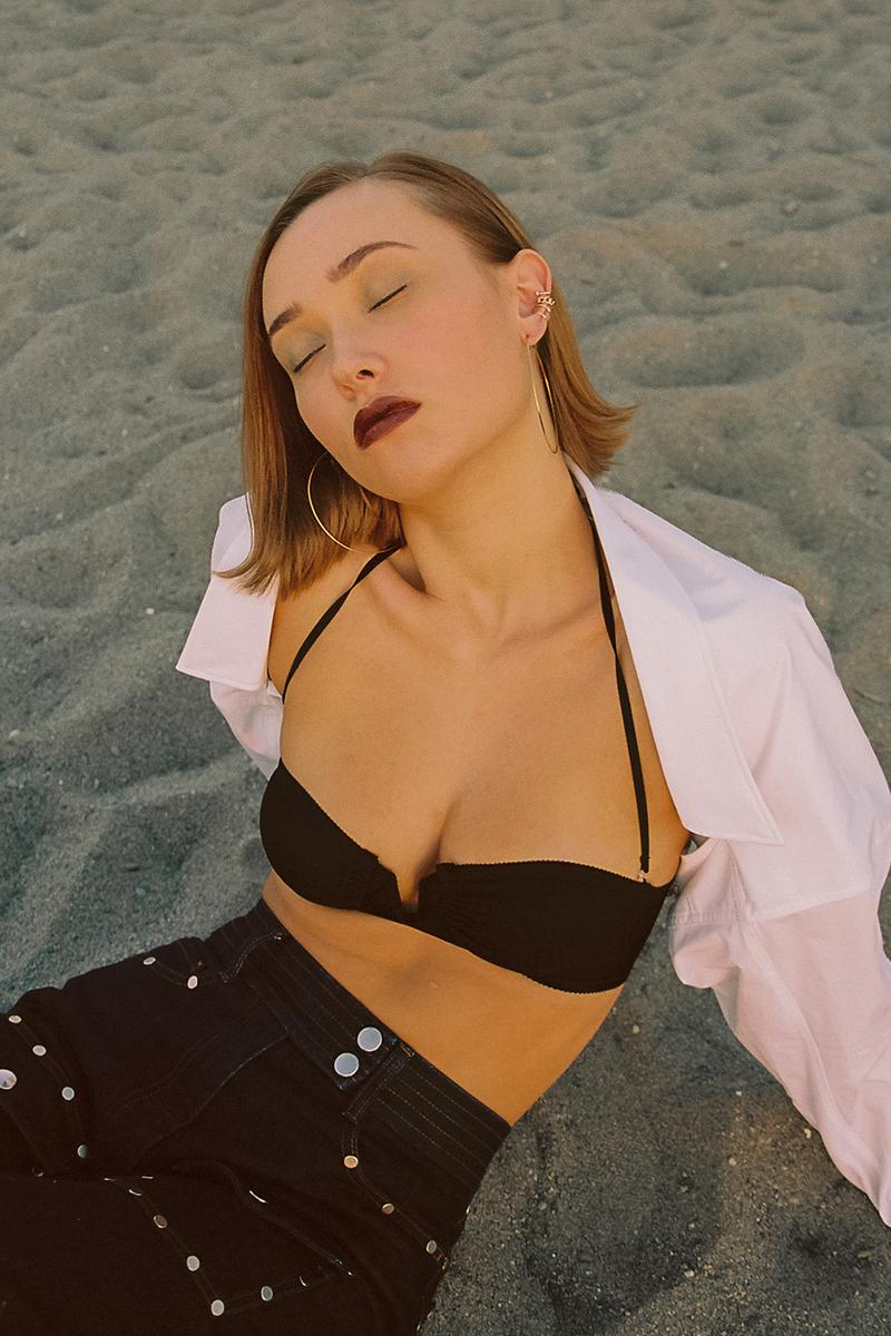 1990s 2000s fashion editorial tasha retro nostalgic ganni miu miu acne studios alexander wang beach outfits