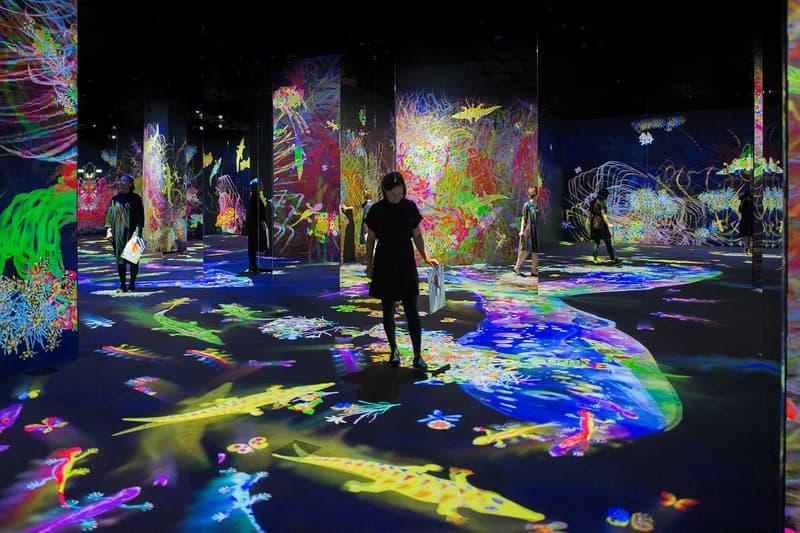 teamlab exhibition barcelona spain caixaforum interactive art show dates info