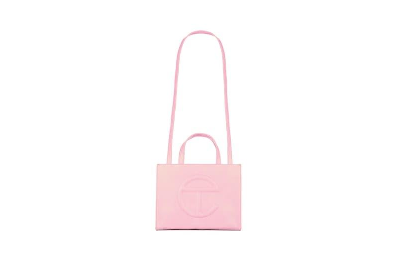 telfar bag bubblegum pink restock small medium large