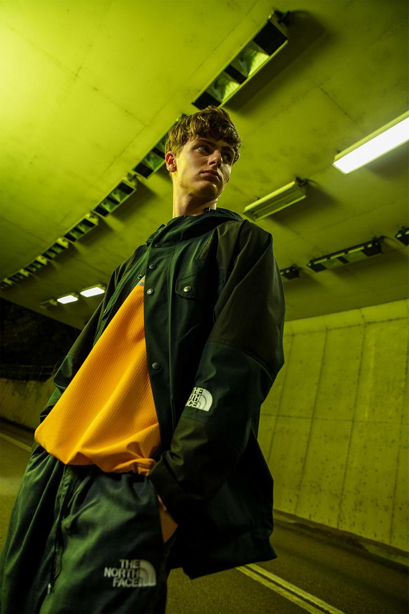 the north face tnf urban exploration fall winter the bright city trotter gold capsule fleece jackets puffers outerwear pants release
