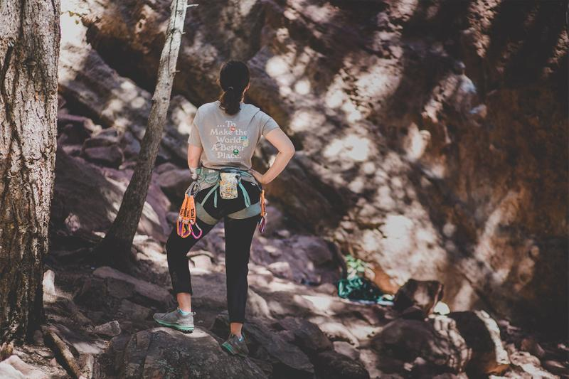 the north face girl scouts t-shirt collaboration maureen beck climber covid19 support release
