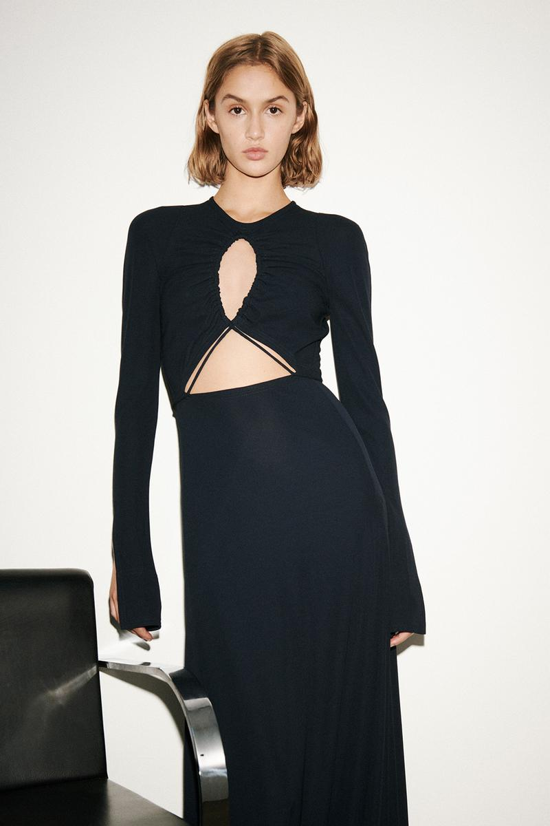 victoria beckham spring summer 2021 presentation suits dresses flared pants london fashion week lfw