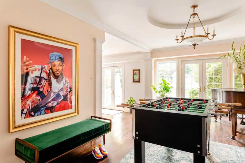 will smith the fresh prince of bel air mansion airbnb brentwood california united states