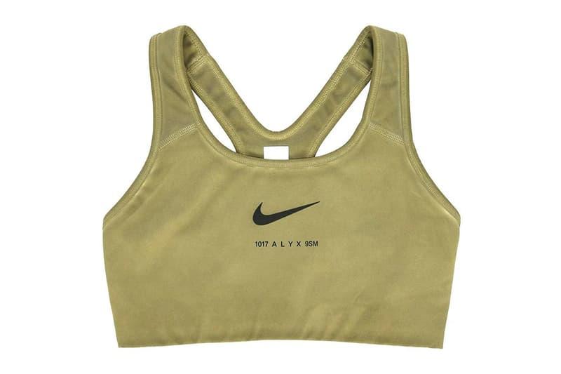 1017 ALYX 9SM Nike Apparel Collaboration Logo Swoosh