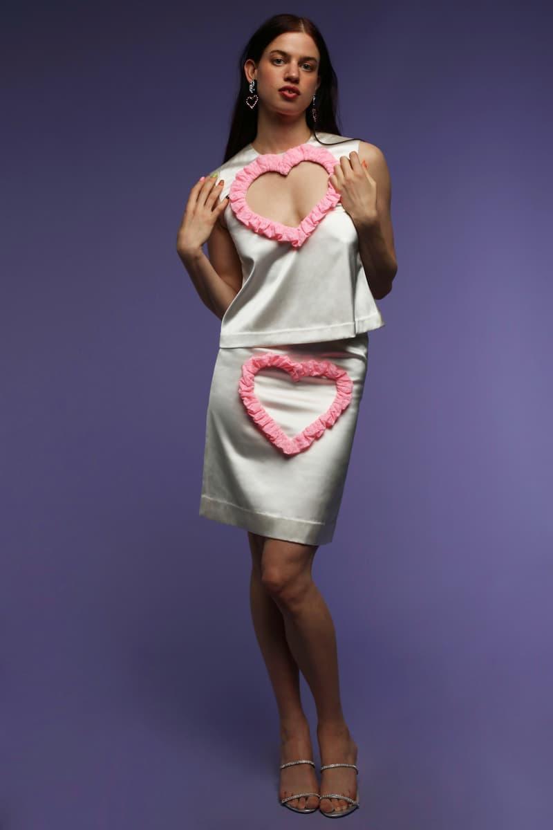 Ashley Williams Spring/Summer 2021 Lookbook Collection Prints Britannia Sex Purell Print COVID-19