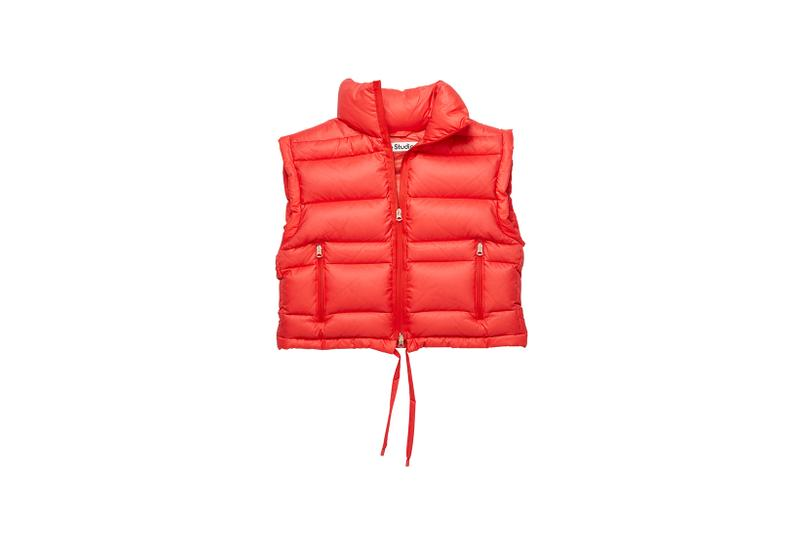acne studios fall winter puffer jackets collection outerwear