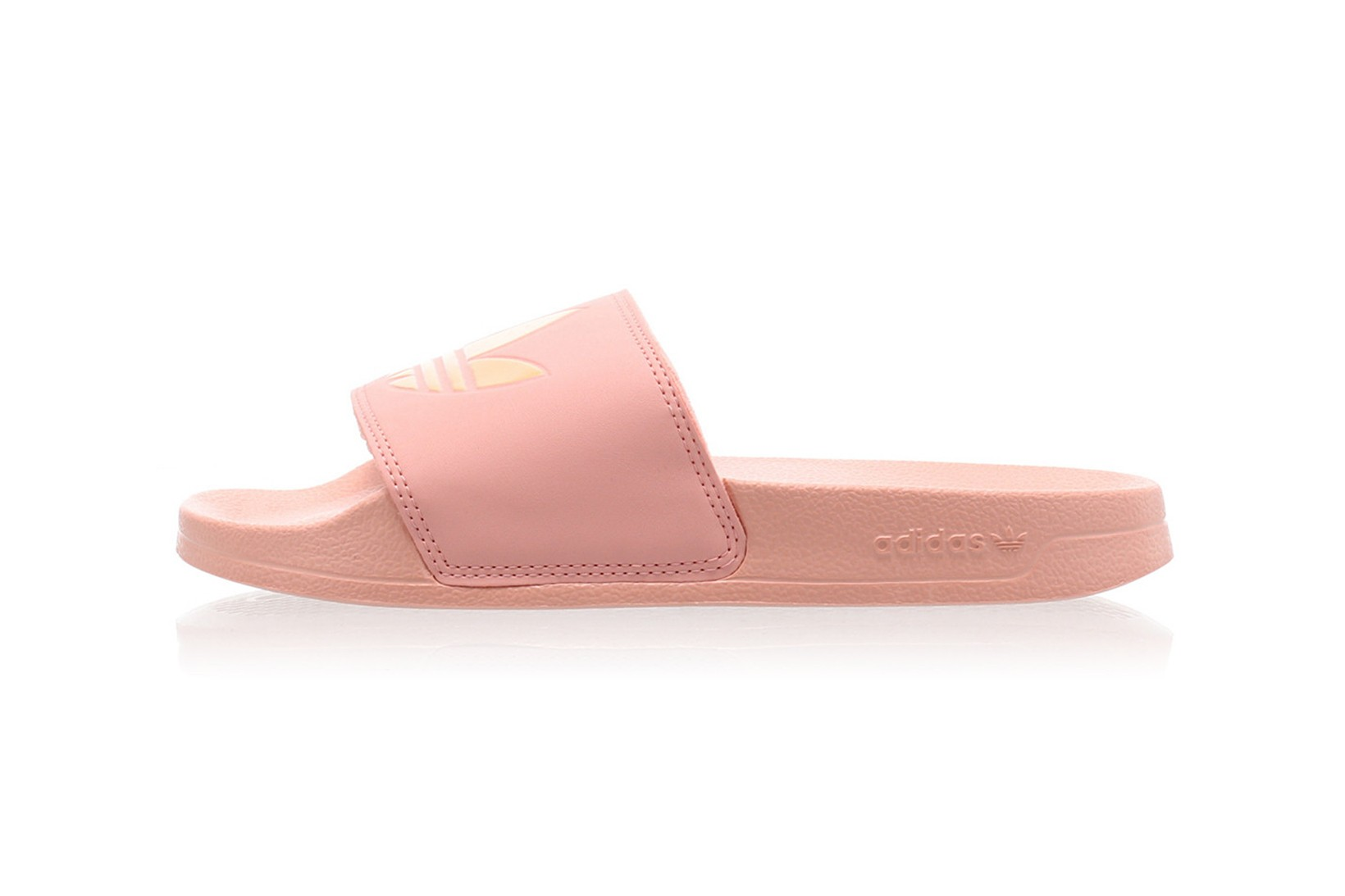 adidas slippers white