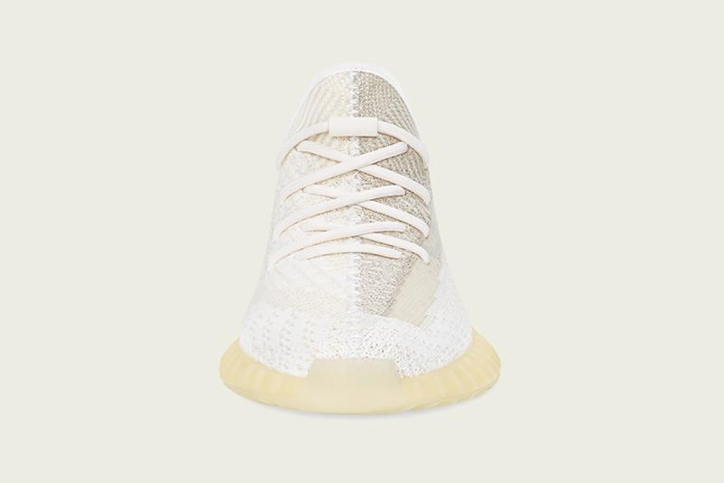 adidas kanye west yeezy boost 350 v2 natural colorway sneakerhead shoes footwear cream white