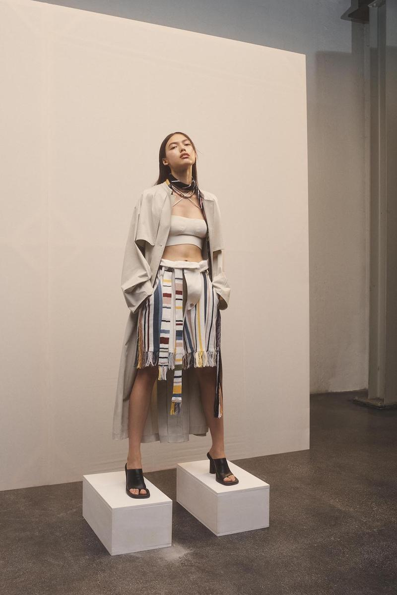 ambush spring summer 2021 collection outerwear jackets coats pants white brown