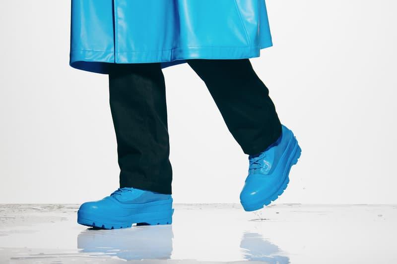 converse ambush collaboration season 2 chuck rubber boots blue