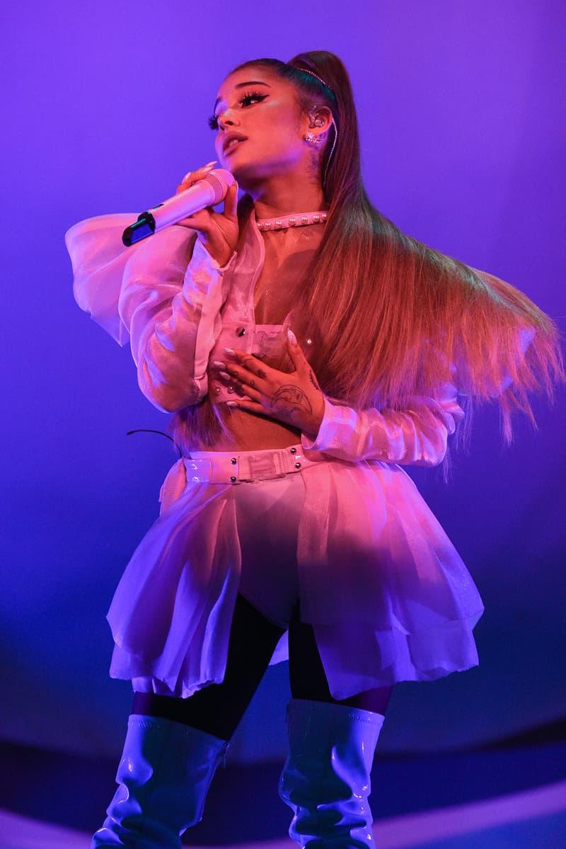 Ariana Grande Sweetener World Tour Costume Dress Performing