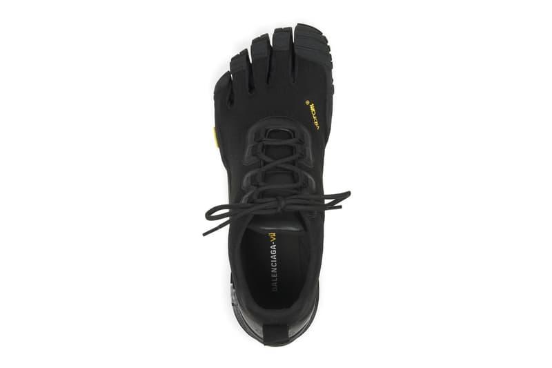 balenciaga five toe shoes socks heels vibram fall winter price release