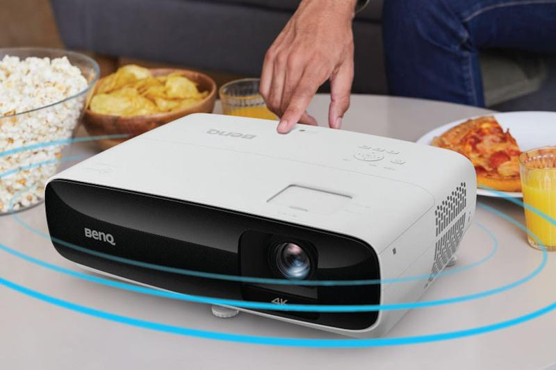 At Home Cinema Projector BenQ TK810 Review Movies Visuals 4K Display